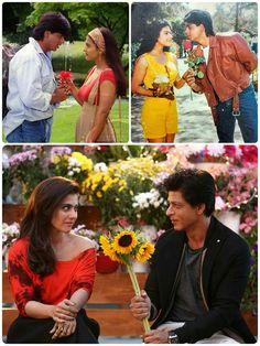 Shahrukh Khan And Kajol, Srk Movies, Best Bollywood Movies, Indian Aesthetic, Indian Bollywood Actress, Best Couple, I Movie, Actors & Actresses, My Love