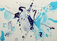 Sam Francis, 'Blue Violet,' 1963, Benjaman Gallery Group Lithograph on paper