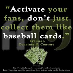 How do you engage your fans?
