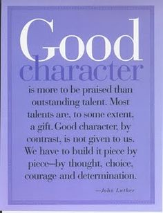 Good Character by John Luther