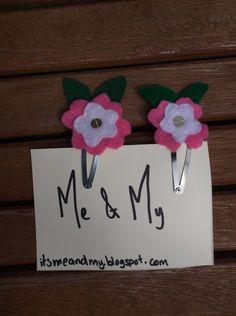 Me & My flower clip. £3.50, via Etsy.