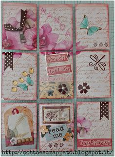 Cotto e Scrappato: Pocket Letter #4 per Nanda