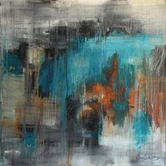 "Saatchi Art Artist Lukas Kasprowicz; Painting, ""Blue Composition"" #art"
