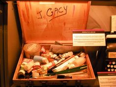 John Wayne Gacy's art kit