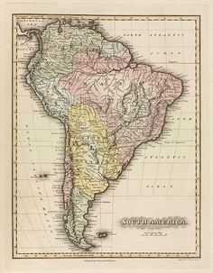 South America  1823