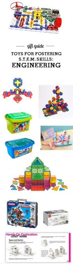 MPMK Toy Gift Guide: Top STEM toys (Science, Technology, Engineering, & Math) Picks for all ages - so many great toys for working on engineering skills here! Love the detailed descriptions and age recommendations, so helpful!!