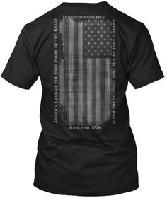 4th of July is Coming Quick - Independence Day T-shirt   ***America Land of the Free Home of the Brave - July 4 1776***  #4thofjuly #independenceday #july4th #calikays
