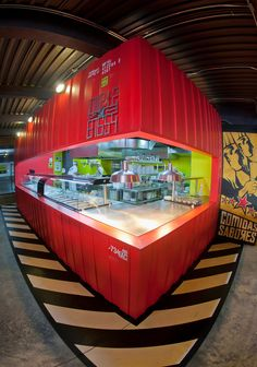 Restaurante LA INDUSTRIA by Plasma Diseño , via Behance