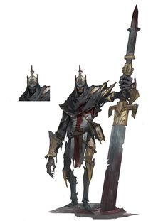 ArtStation - Stelae knight, Shuohan Zhou