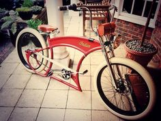 Custom Beach Cruiser, Cruiser Bicycle, Old Cars, Cars Motorcycles, Bicycles, 3, Rockabilly, Vehicles, Projects