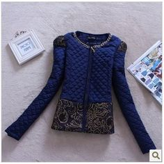 Find More Basic Jackets Information about New women's autumn and winter in Europe and America of the original single big openwork lace stitching Slim   jacket YU365,High Quality winter 2009,China winter jumper Suppliers, Cheap winter boots women size 11 from Woman  wardrobe on Aliexpress.com