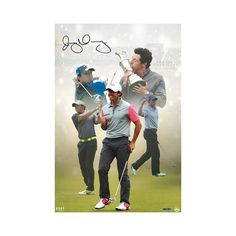 Rory McIlroy Signed Destiny Fulfilled 16 x 24- $549.99