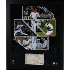 5ba60168ca5 Mariano Rivera New York Yankees Career Highlights 14x18 Framed Collage with Game  Used Pitching Rubber