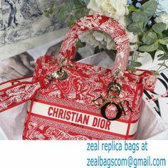 Dior Medium LADY D-LITE Bag in Raspberry Embroidery Reverse Jouy PrintM929 2021 Miu Miu Handbags, Balenciaga Handbags, Valentino Handbags, Chloe Handbags, Balenciaga City Bag, Bvlgari Handbags, Cristian Dior, Goyard Bag, Dolce And Gabbana Handbags
