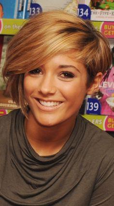 love coloured hair and hair cut