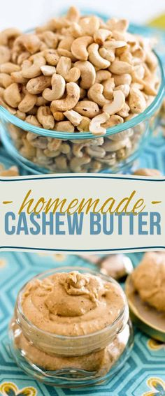 Learn how to make your own all natural, no oil added, homemade cashew butter with these step-by-step photo instructions. Heavenly deliciousness in a jar!