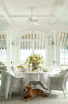 Decorating your Beach Home with Sky Blue Beach Cottage Living Room Ideas Ralph Lauren Rosecliff Coastal Homes, Coastal Living, Cosy Living, Cottage Living, Cottage Homes, Enchanted Home, Ralph Lauren, Great Love Stories, Cool Ideas