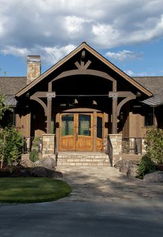 I like this entry.  Would add alot of style to a ranch home.