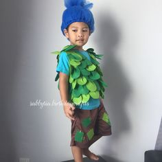 Image result for men troll branch costume