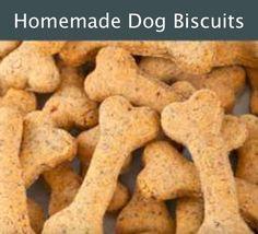 Homemade Dog Treats Recipe - DIY Gift World