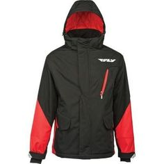 FLY Casual FACTORY Motorcycle Jacket Red/Black