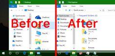 Truco Windows 10: Aumentar transparencia en Barra de Tareas