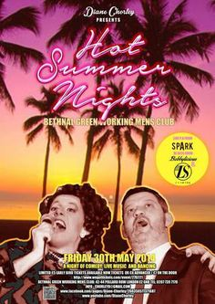 Diane Chorley's Hot Summer Nights, On May 30, 2014 at 8pm-2am, Price: £5-£7, Artists: Diane Chorley, La Shark, Spark, Boobylicious, An unforgettable mix of cabaret, comedy, live music, drinking and dancing with fallen 80s icon Diane Chorley at the helm! Think Phoenix Nights on speed, Fallen 80s icon Diane Chorley is BACK!  She is climbing her way back up the show business ladder to reclaim her celebrity crown,  Website: http://atnd.it/11643-2, Category: Nightlife   Nightlife.