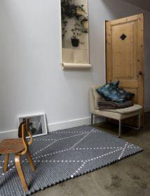 Tapis Dot Hay Design Rugs On Carpet Rugs Felt Ball Rug