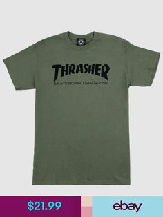 Thrasher T-Shirts  ebay  Clothing 98f69366d