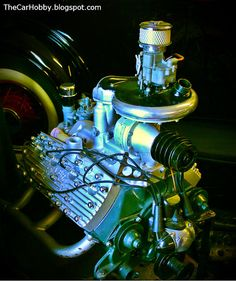 Cool Engines - McCulloch Supercharged Ford Flathead V8 | The Car Hobby