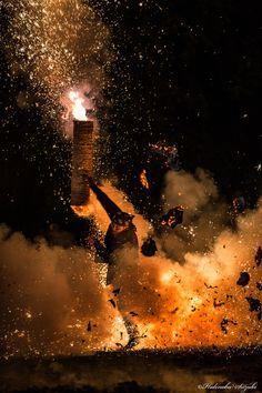 hand-tube fireworks Explosion by Hidenobu Suzuki on 500px