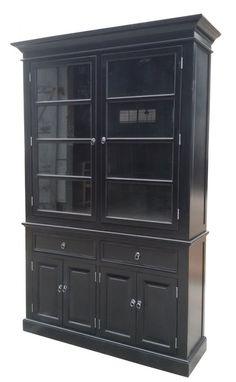 vitrinskåp svart Home Design Decor, House Design, Home Decor, China Cabinet, Storage, Interior, Furniture, Tips, Homemade Home Decor