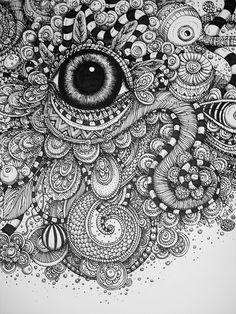 Love this zentangle