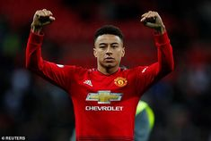 Jees Lingard has more celebrated team-mates but he is effective for Manchester United Paul Pogba Manchester United, Manchester City, Dominic King, Gareth Southgate, Jesse Lingard, Marcus Rashford, Pep Guardiola, Good Attitude, Camp Nou
