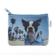 Catseye BEAD6CP Beach Dog Coin Purse