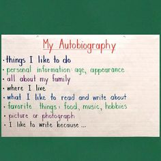 """@balancedlitdiet --> """"All About Me Autobiography: Writing to Inform"""" will be a hit with all students, since they get to write about themselves!"""