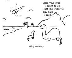 Extinction cartoons