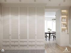 Przytulne mieszkanie - Średni biały hol / przedpokój, styl klasyczny - zdjęcie od Aleksandra Wachowicz - homebook Divider, Room, Furniture, Design, Home Decor, Bedroom, Homemade Home Decor, Rooms