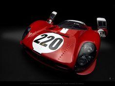 Scuderia Filipinetti Ferrari 412 P Targa Florio 1967 by Zuugnap, via Flickr