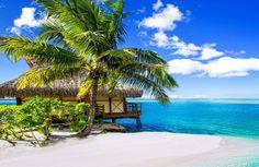 Bora Bora island, Tahiti, French Polynesia - Tourist Attractions