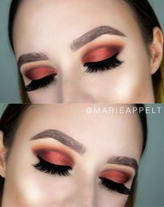 Colourpop Yes, Please! palette, makeup tutorial, makeup look, looks, tutorial, warm toned makeup, fall makeup, step by step, fall makeup, fall 2017,fall makeup 2017, beginners, step by step, easy