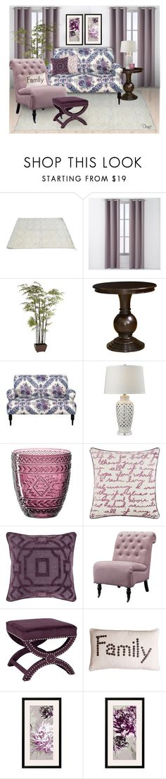 """""""Lovely Lavenders"""" by diane-hansen ❤ liked on Polyvore featuring interior, interiors, interior design, home, home decor, interior decorating, Arlee Home Fashions, Pier 1 Imports, Skyline and Leonardo"""