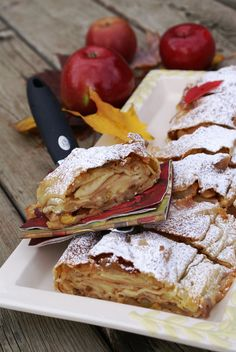 Vanilla Apple Strudel