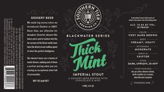 Southern Tier Thick Mint echoes the famous Girl Scout cookie - Beer Street Journal