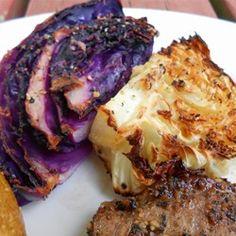 Easy Roasted Cabbage #MyAllrecipes