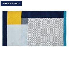 Sheridan Asta Beach Towel - Washed Indigo