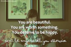 You are so much more then the negative thoughts in your head. You can #recover.
