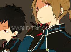 World Trigger anime manga fanart from pixiv