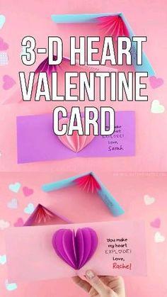 Kinder Valentines, Valentines Bricolage, Valentine Crafts For Kids, Valentines Day Activities, Funny Valentine, Valentines Diy, Printable Valentine, Valentine Wreath, Valentines Surprise For Him