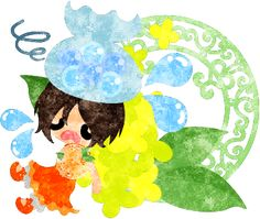 春のフリーのイラスト素材病気の女の子と黄色い花のオブジェ  Free Illustration of spring An ill girl and an object of yellow flowers   http://ift.tt/2oPPEUc